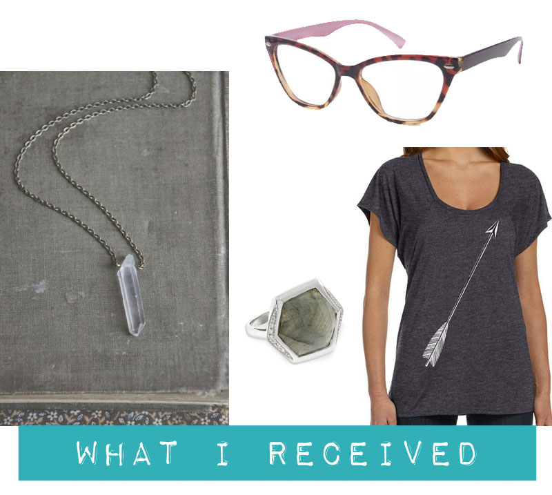 Budgeting Bloggers January: What I Received / hellorigby! seattle fashion and lifestyle blog