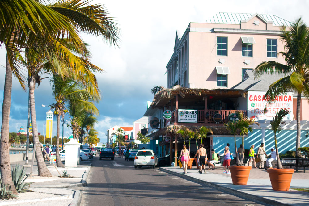 Downtown at Port Nassau, Bahamas - hellorigby seattle lifestyle and fashion blog