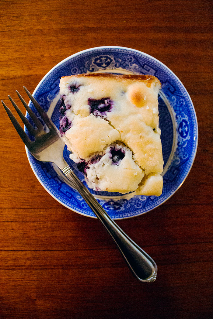 Lemon Blueberry Breakfast Cake Recipe / hellorigby!