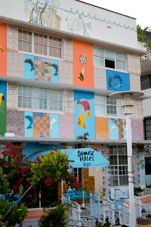 Miami Art Deco Architecture / The James Hotel / hellorigby!