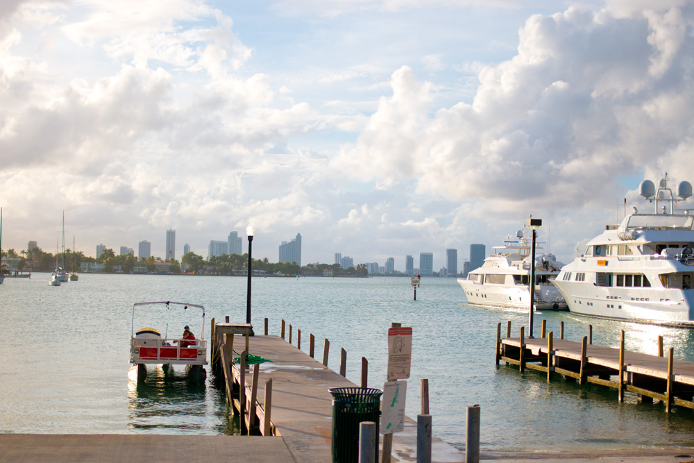 Miami Boat Marina and Dock / hellorigby!