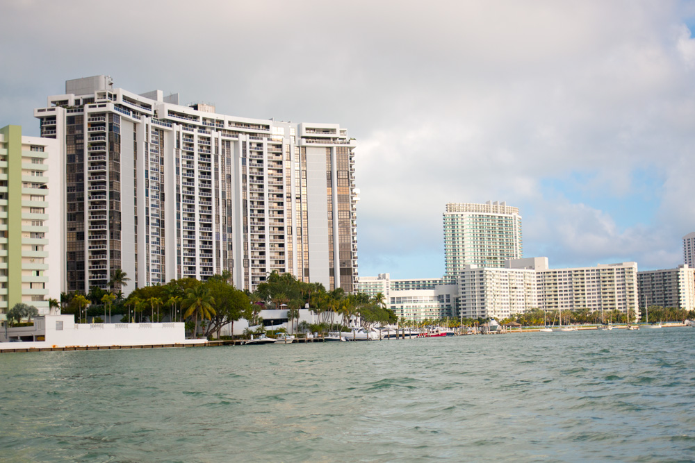 Miami, Florida South Beach from the Water & Skyline / hellorigby!