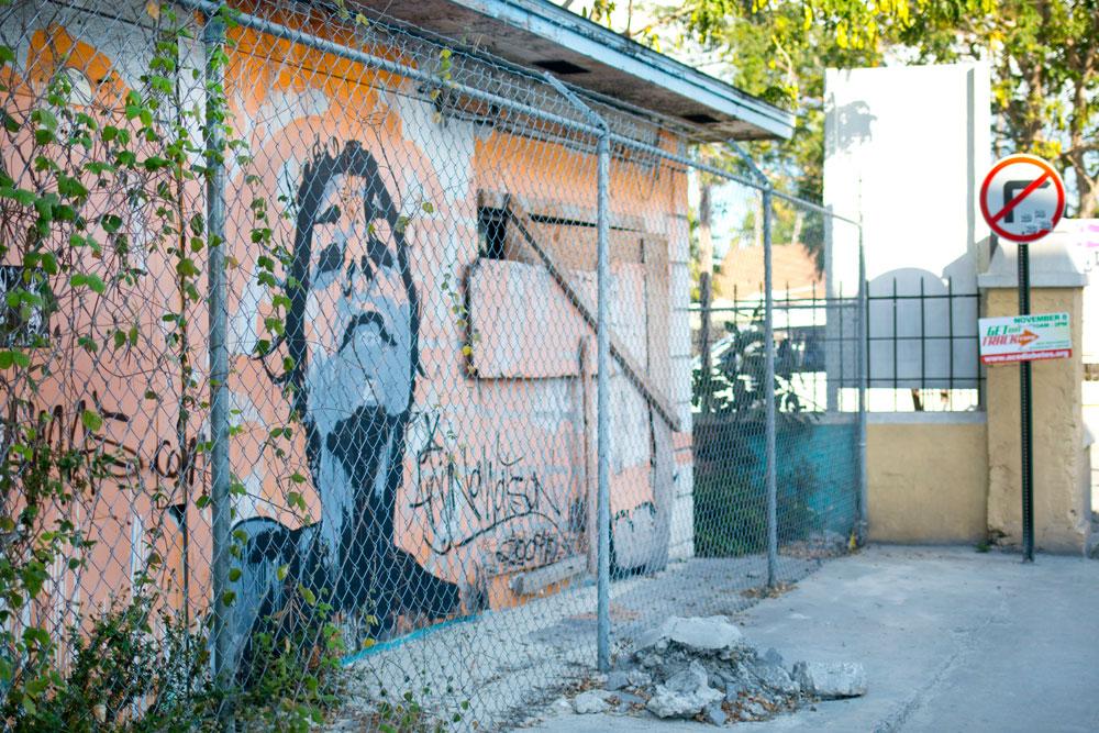 Street Art/Mural/Graffitti at Junkanoo Beach, Nassau, Bahamas / hellorigby seattle fashion and lifestyle blog