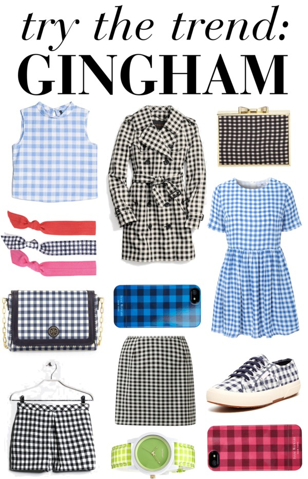 Try The Trend: Gingham / @makinitwithmar for @hellorigby