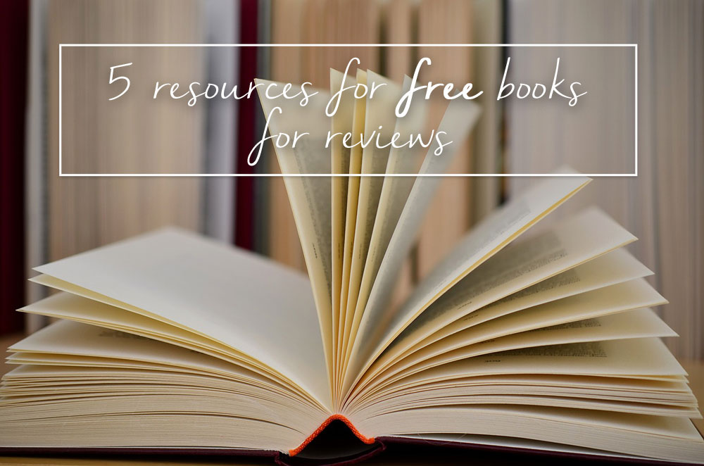 5 Resources for Free Books for Reviews and Bloggers / hellorigby seattle lifestyle and fashion blog