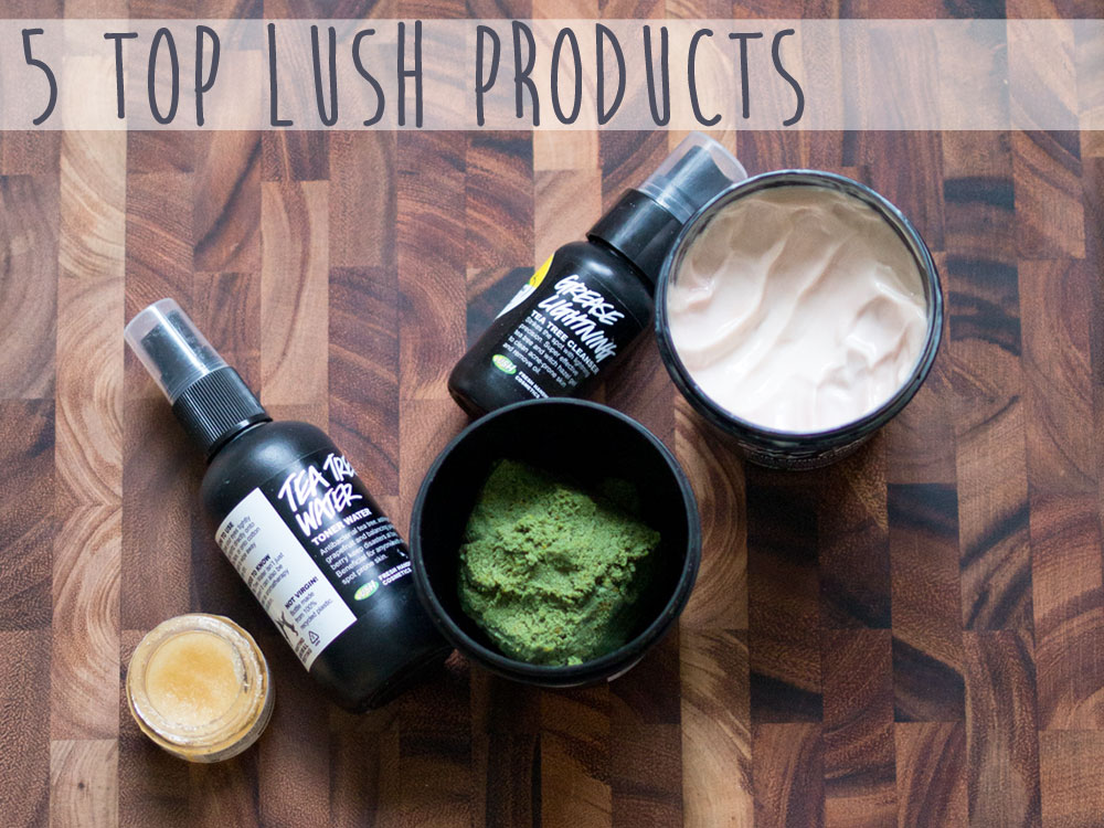 5 Top Lush Products / hellorigby lifestyle and fashion blog