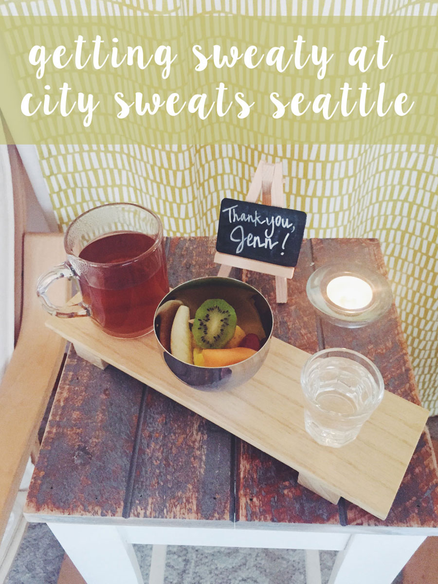 City Sweats Seattle Review - Infrared Sauna Treatment / hellorigby seattle lifestyle and fashion blog