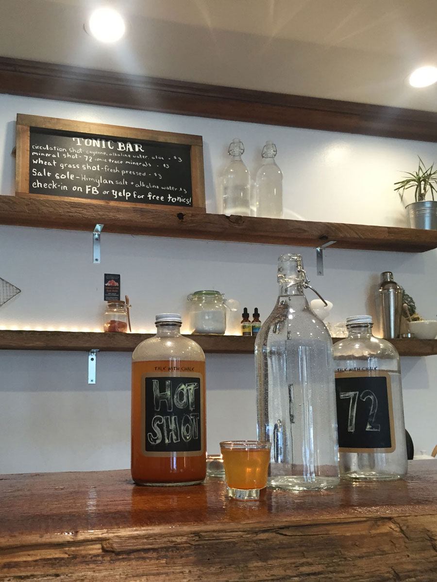 City Sweats Seattle Tonic Bar / hellorigby seattle lifestyle and fashion blog