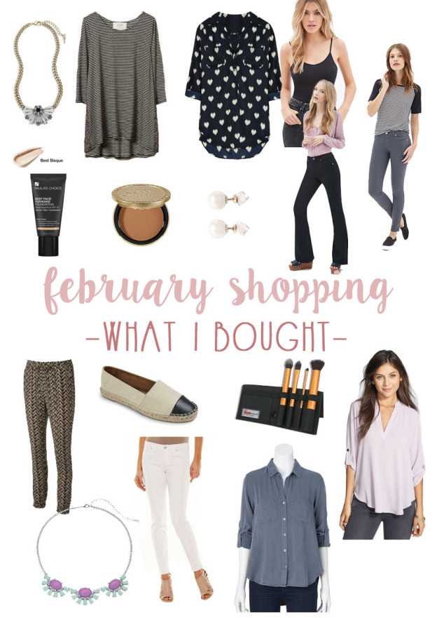 February Shopping: What I Bought / hellorigby seattle fashion and lifestyle blog