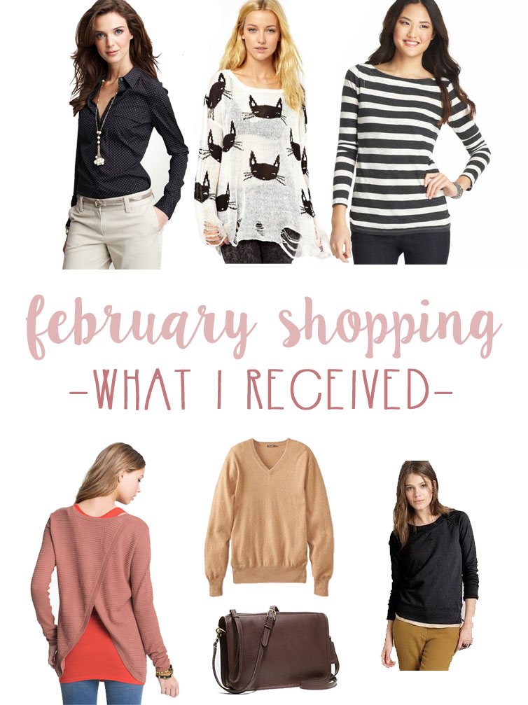 February Shopping: What I Received / hellorigby seattle fashion and lifestyle blog