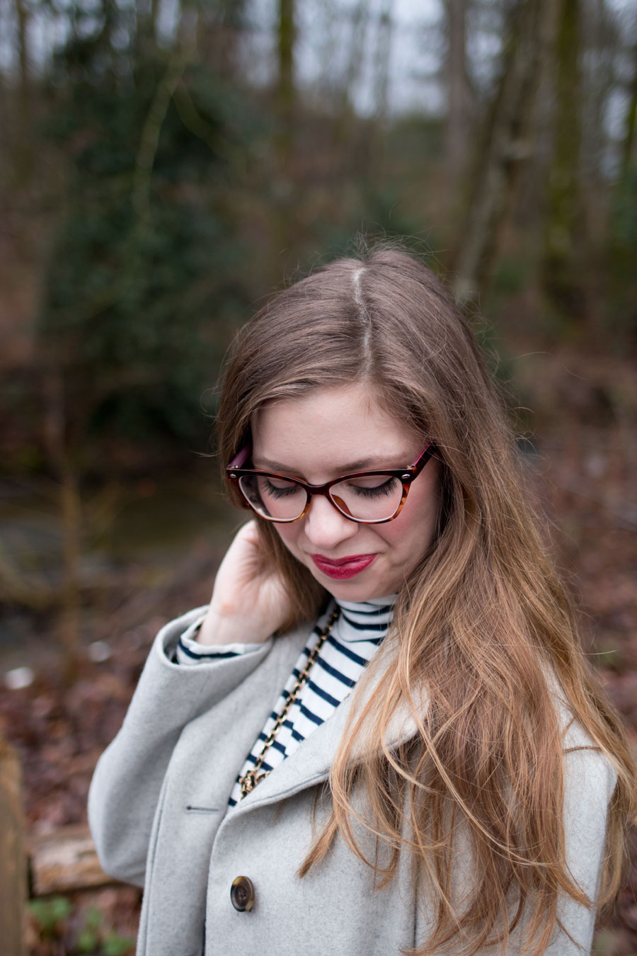GlassesShop Novia Cat Eye Glasses Frames Review & Turtleneck Outfit / hellorigby seattle fashion and lifestyle blog