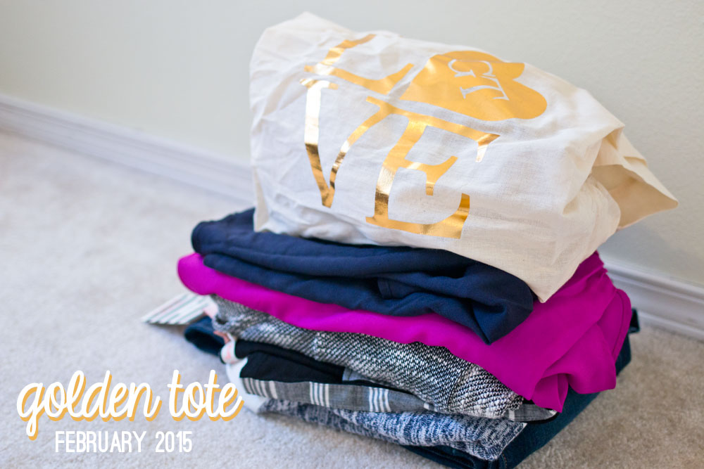 Golden Tote February 2015 Review & Styling / hellorigby seattle fashion and lifestyle blog