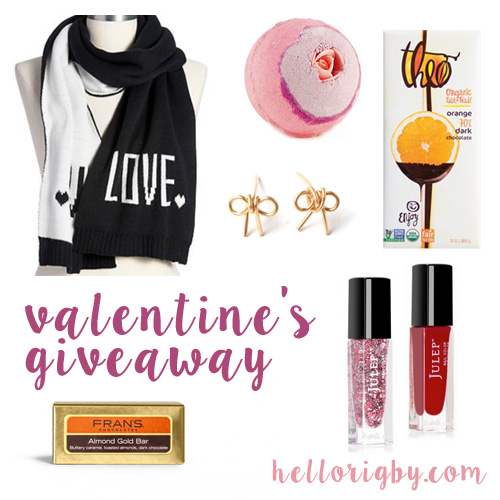 Valentine's Day Giveaway / hellorigby fashion and lifestyle blog