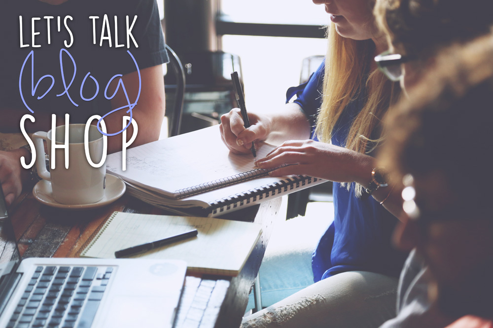 Let's Talk Blog Shop - an online meetup for bloggers, small business owners, and social media influencers / hellorigby seattle lifestyle & fashion blog