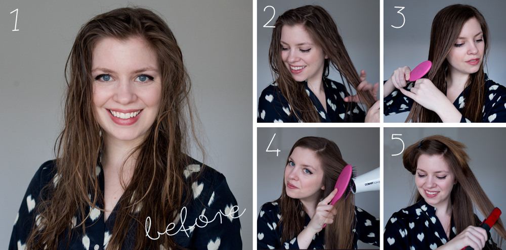 Smooth Made Simple Tutorial - Smooth Straight Hair with Tresemme & Suave / hellorigby seattle fashion and lifestyle blog