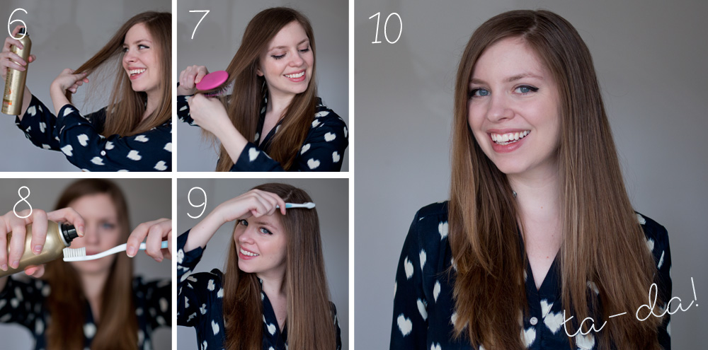 Smooth Made Simple Tutorial - Smooth Straight Hair with Tresemme and Suave / hellorigby seattle fashion and lifestyle blog
