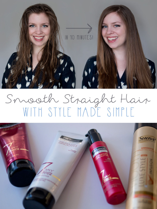 Smooth Made Simple - Smooth, Straight Hair with Style Made Simple & Walmart / hellorigby seattle fashion and lifestyle blog