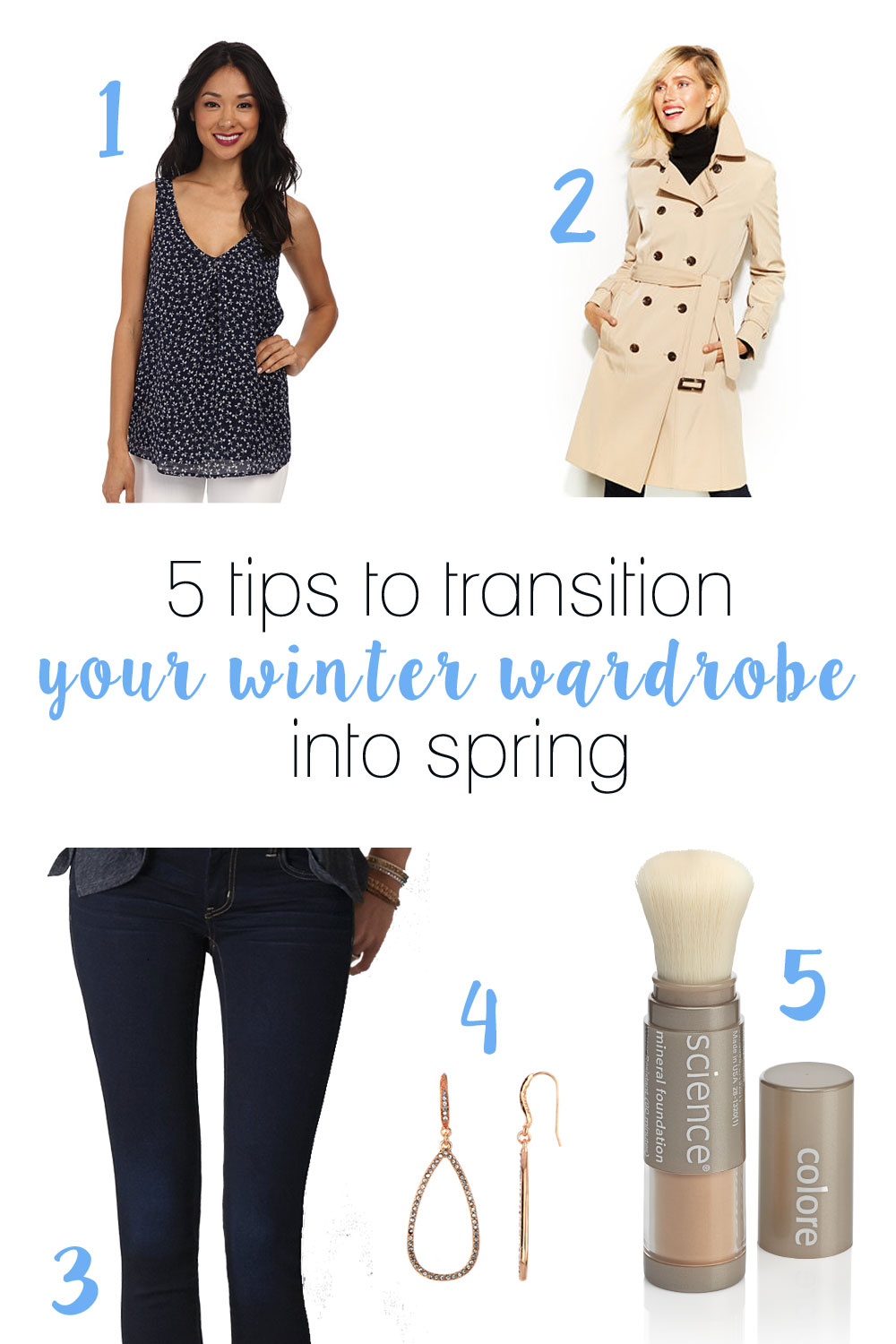 5 Tips to Transition Your Winter Wardrobe into Spring  with Pink & Proper!  / hellorigby seattle fashion and lifestyle blog