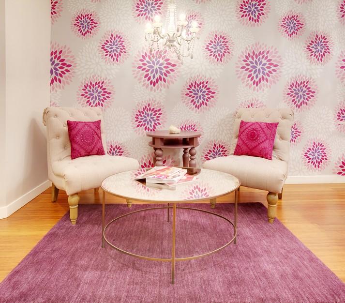 Pantone Spring 2015 Purple & Fuchsia Feminine Room / hellorigby seattle fashion blog