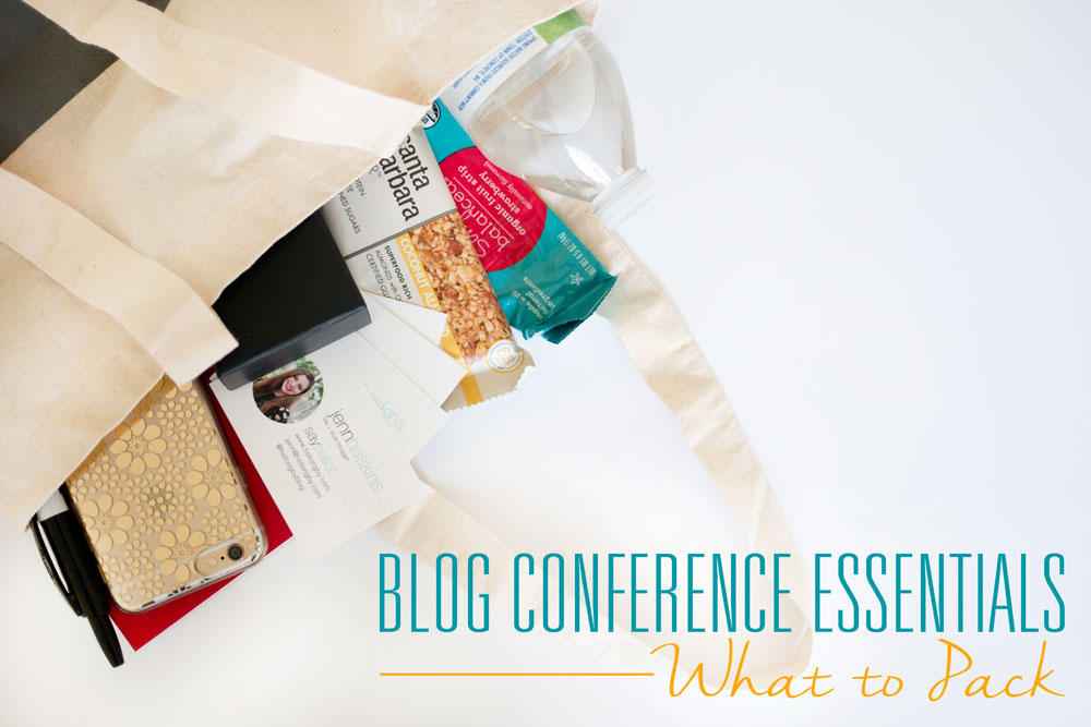 Blog Conference Essentials to Pack for Bloggers / hellorigby seattle lifestyle and fashion blog
