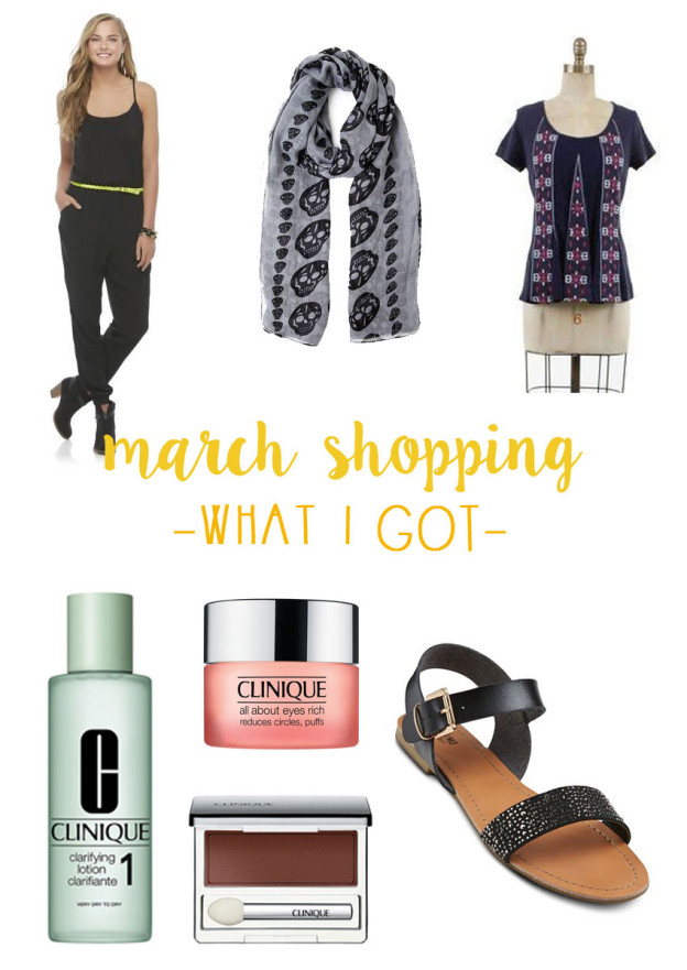 March Shopping Budget & Haul - What I Bought / hellorigby seattle fashion and lifestyle blog
