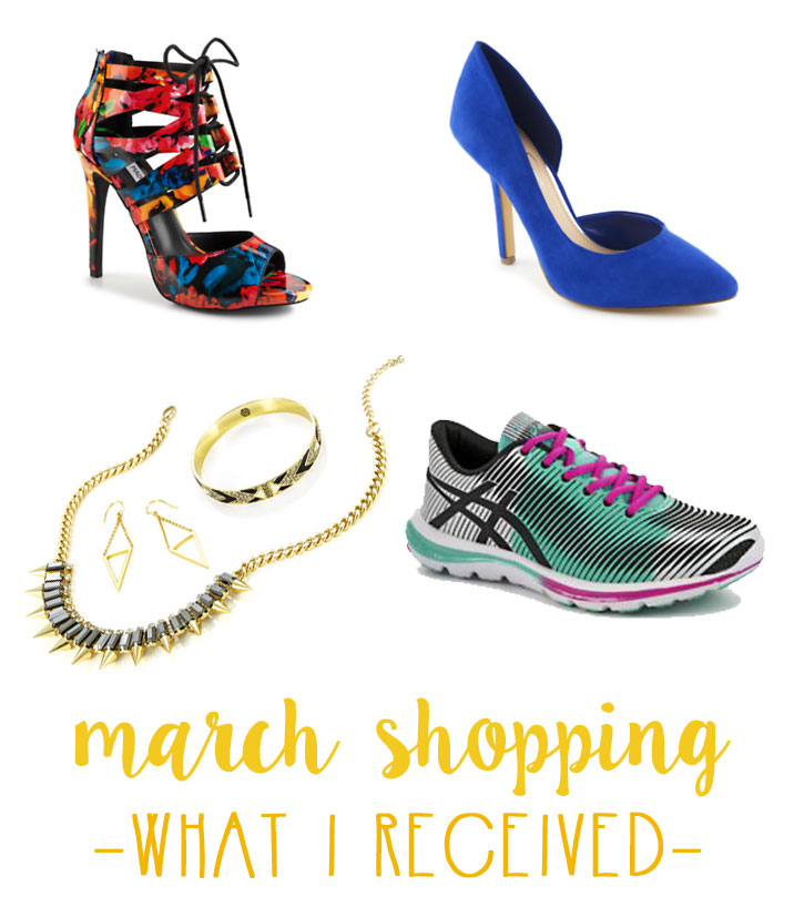 March Shopping Budget & Haul - What I Received / hellorigby seattle fashion and lifestyle blog