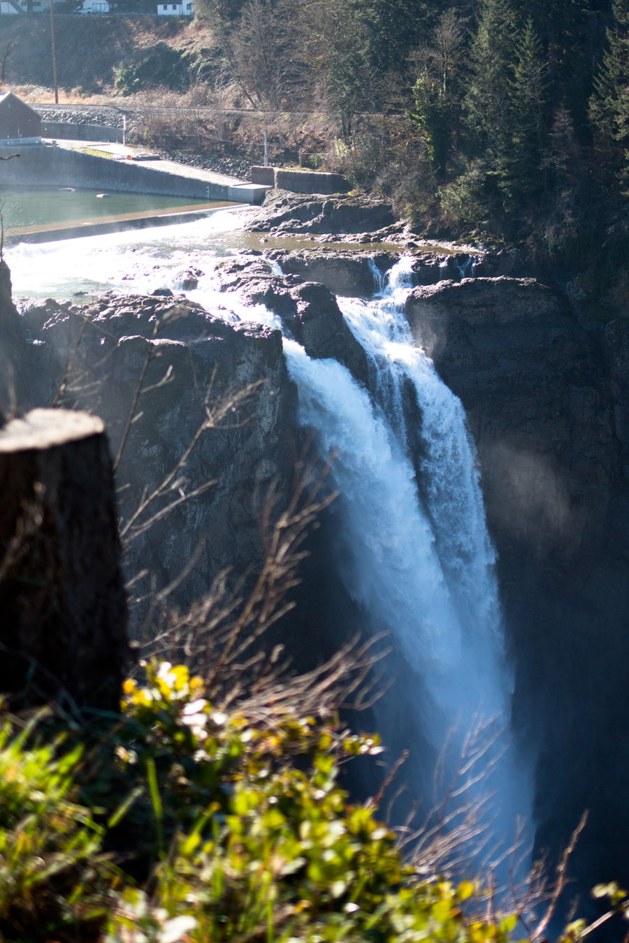 Salish Lodge Snoqualmie Falls View / hellorigby seattle travel blog