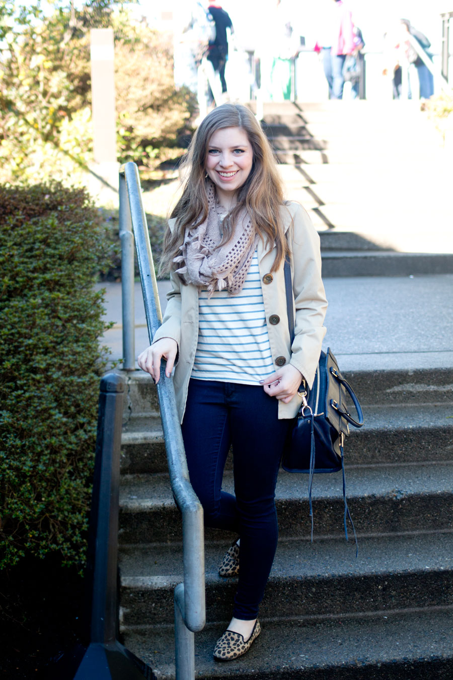 Salish Lodge & Spa and Striped Animal Print Outfit / hellorigby seattle fashion & travel blog