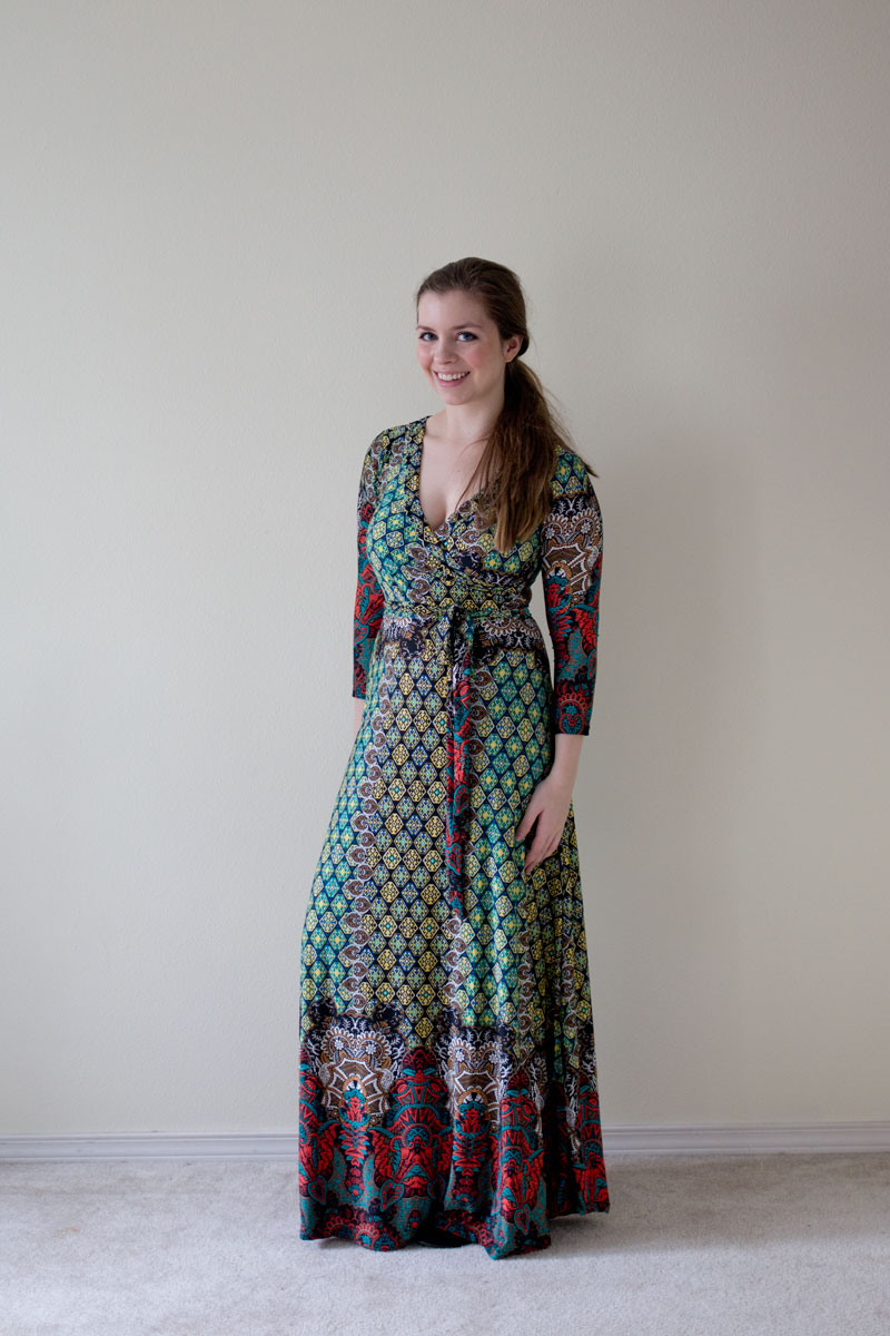 DailyLook Elite Box Tua Colorful Mixed Print Maxi Dress - hellorigby seattle fashion blog