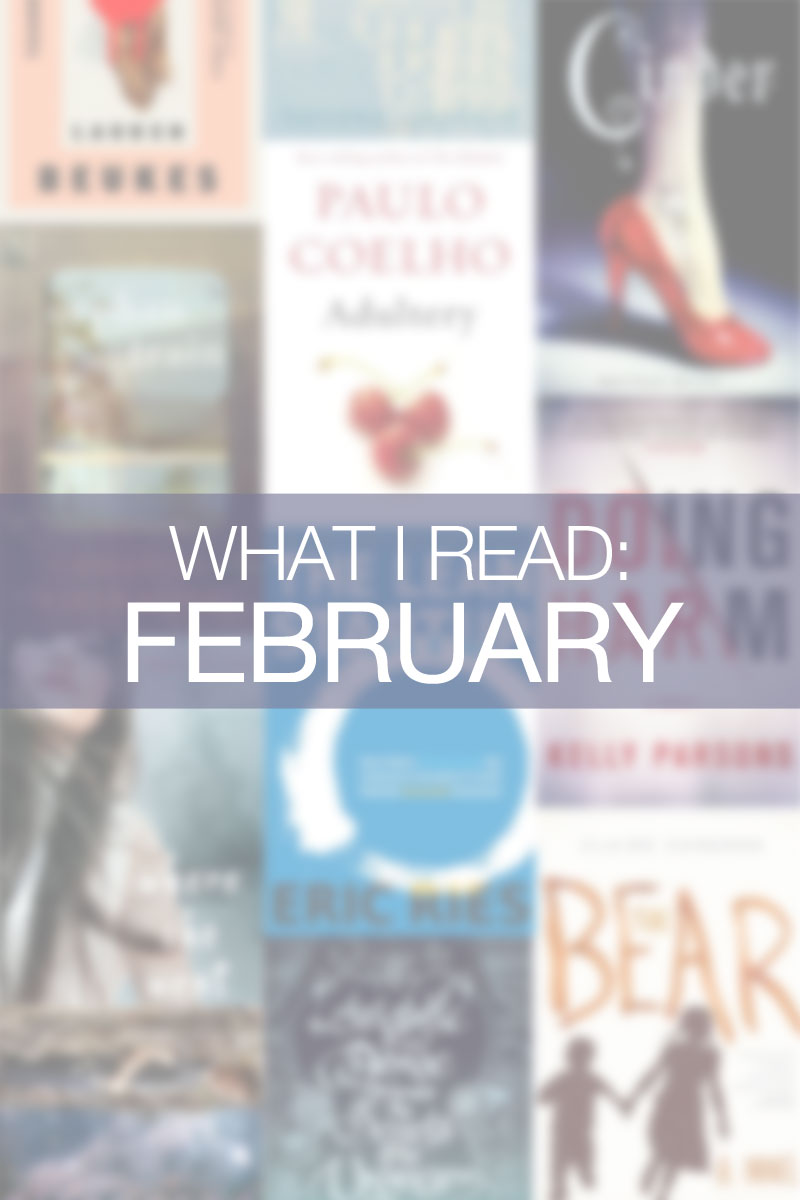 What I Read February 2015 / hellorigby seattle lifestyle blog