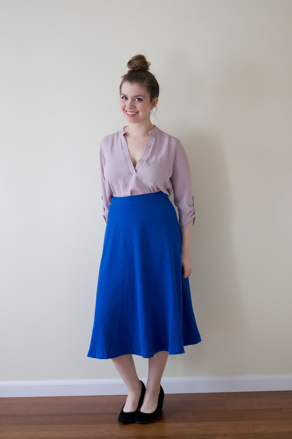 J.O.A. Classic A-Line Skirt / DailyLook Elite Box April 2015 Review & Styling / hellorigby seattle fashion and lifestyle blog