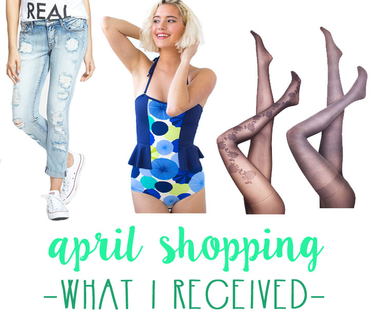 April Shopping Budget: What I Received / hellorigby seattle fashion blog