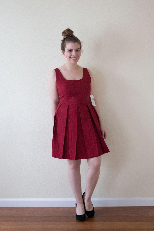 BB Dakota Dane Pleated Cotton Dress / DailyLook Elite Box April 2015 Review & Styling / hellorigby seattle fashion blog