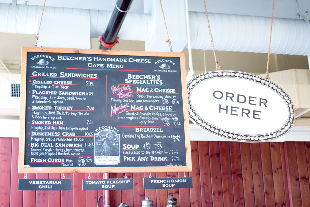 Pike Place Market: Beecher's Cheese Shop / hellorigby seattle lifestyle and fashion blog