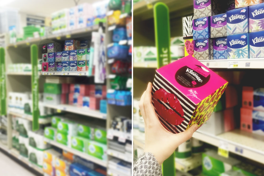 Betsey Styled Kleenex Single Pack at QFC #KleenexStyle #shop / hellorigby seattle fashion and lifestyle blog