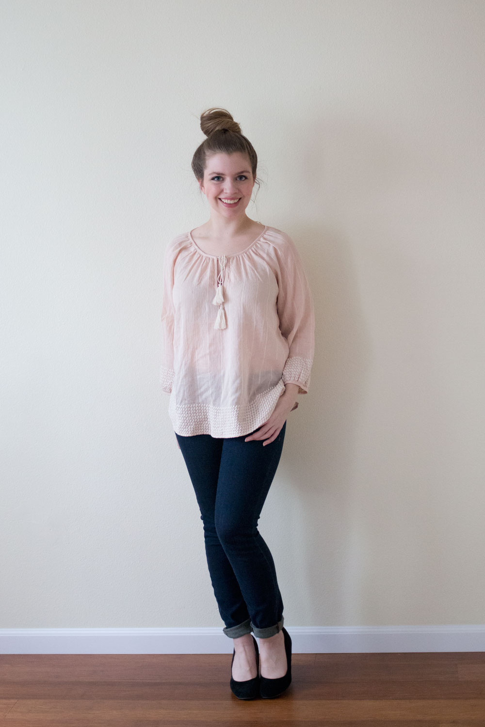 Golden Tote March 2015: Love Stitch Tassel Top / hellorigby seattle fashion blog