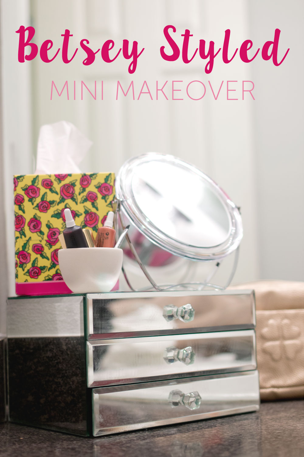 Kleenex Betsey Styled Mini Bathroom Makeover #KleenexStyle #shop / hellorigby seattle lifestyle & fashion blog