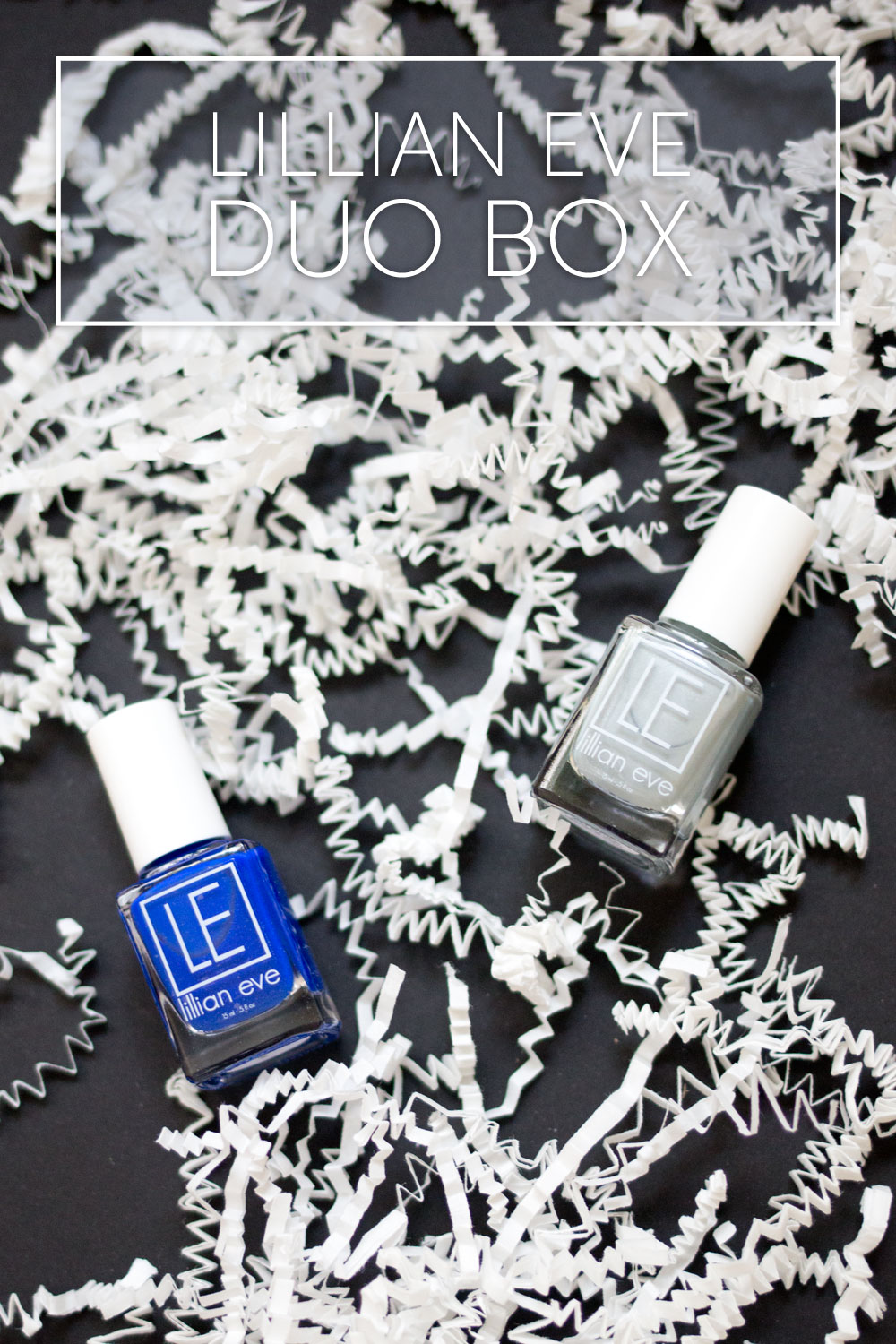 Lillian Eve Nail Polish Duo Box - April 2015 Review & Giveaway / hellorigby seattle beauty and fashion blog