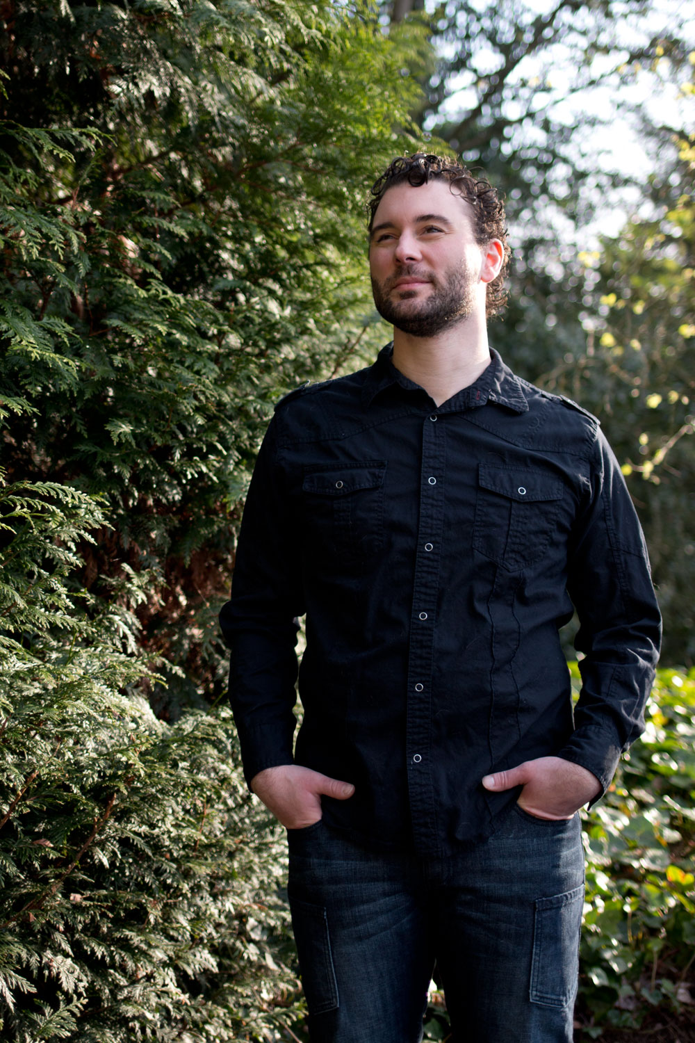 Men's Black Shirt, Jeans, Sneakers Fashion Outfit / hellorigby seattle fashion and style blog