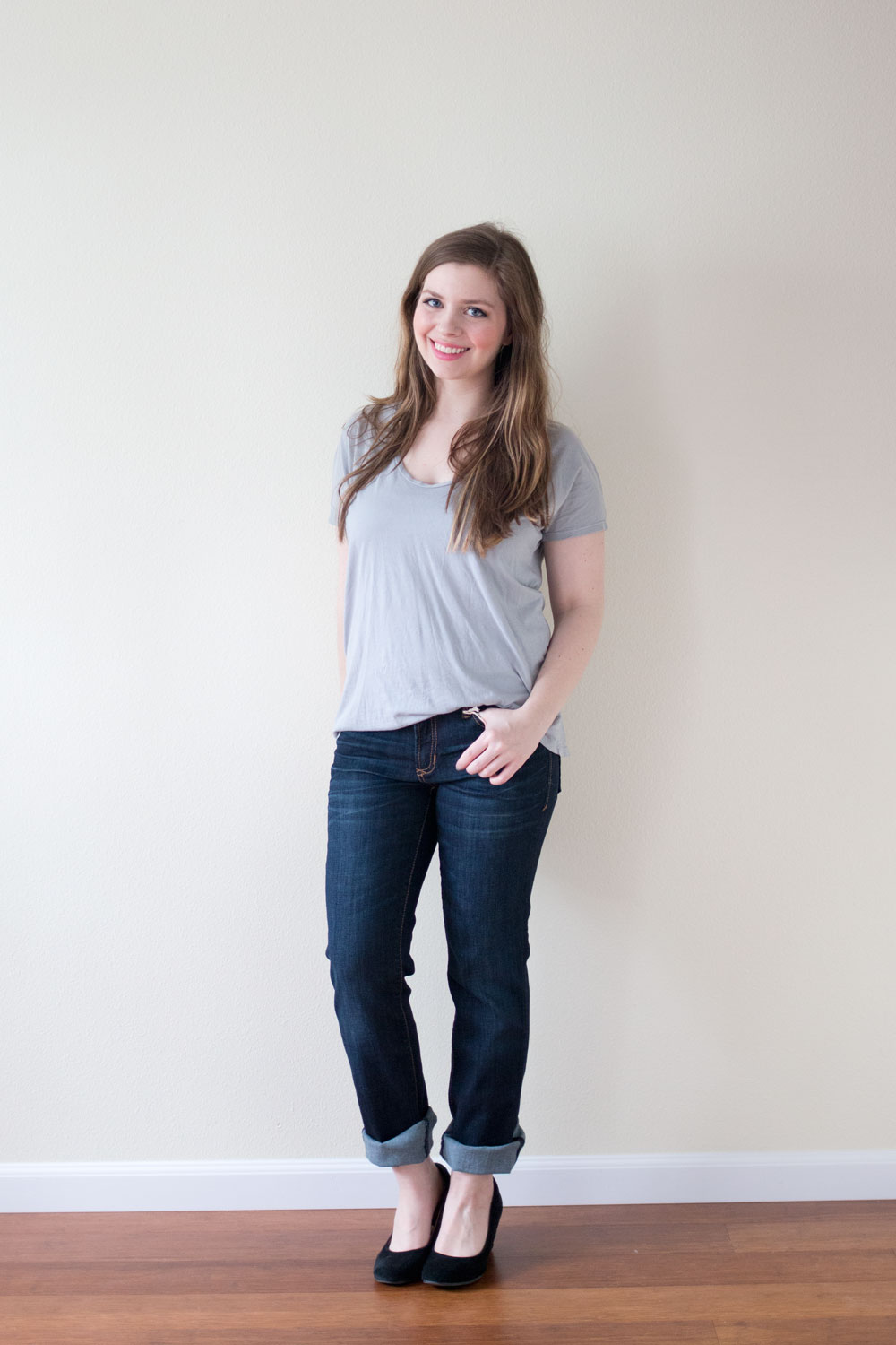 Stitch Fix April 2015: Dear John Kyleigh Straight Leg Jean / hellorigby seattle fashion and lifestyle blog