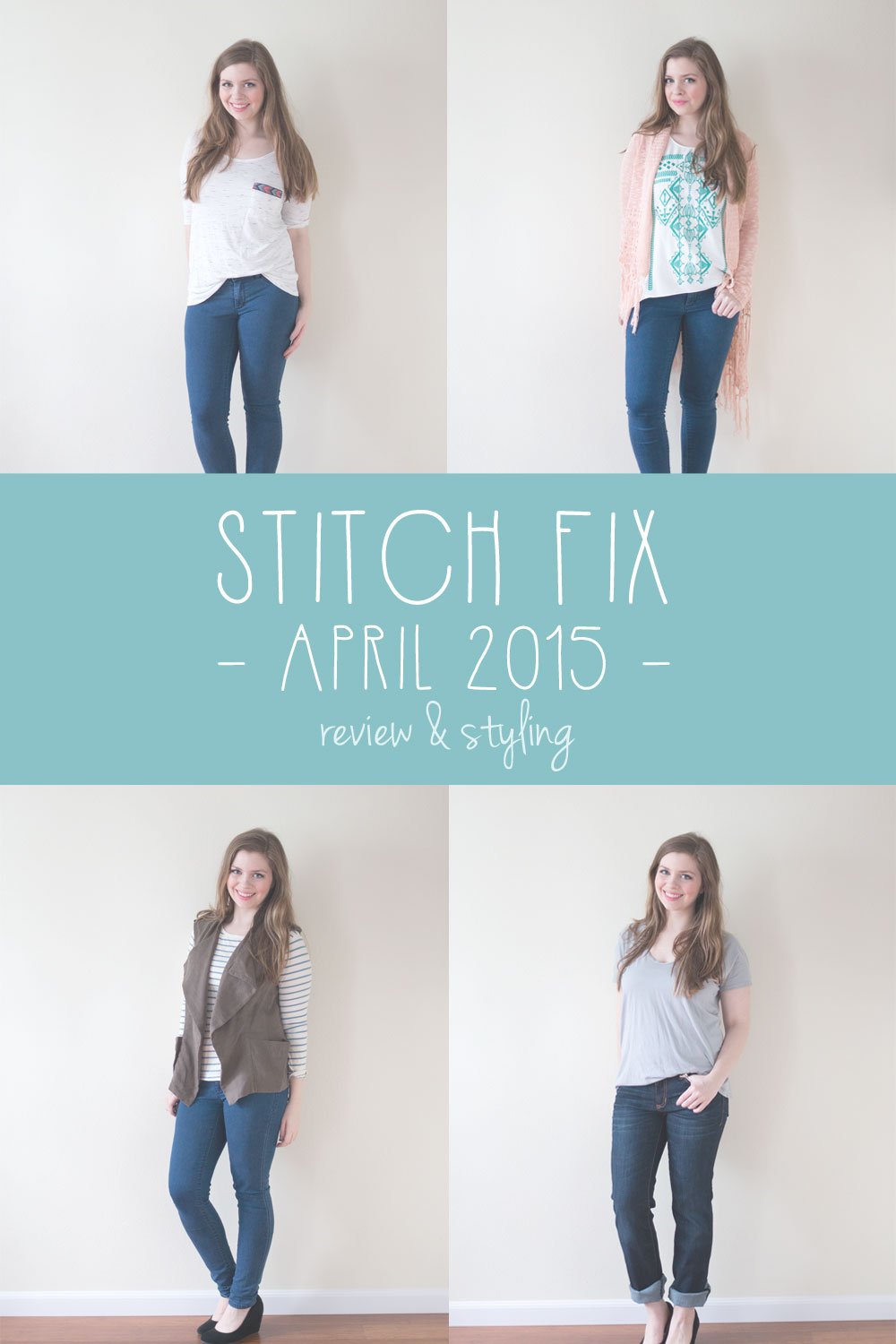 Stitch Fix April 2015 Review and Styling / hellorigby seattle fashion and lifestyle blog