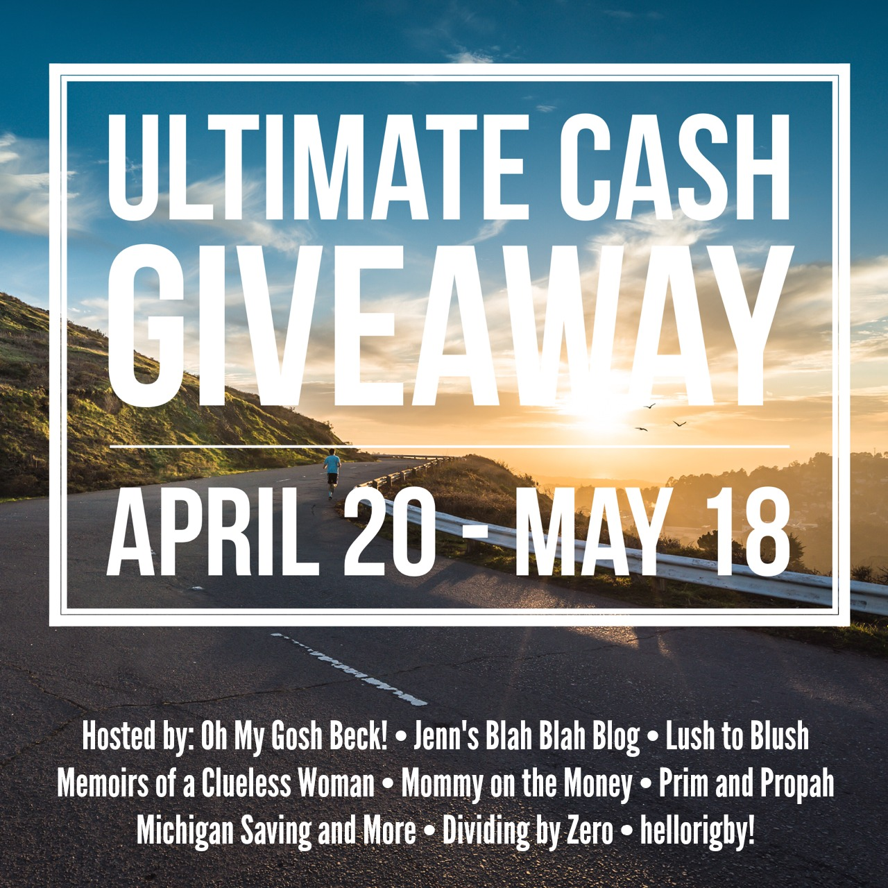 Ultimate Cash Giveaway April 2015 / hellorigby seattle fashion and beauty blog