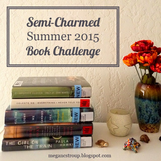 Semi Charmed Summer 2015 Book Challenge / hellorigby seattle book blog