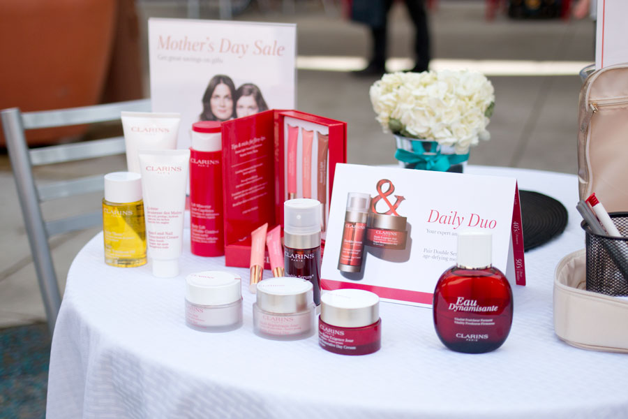 Clarins Skin Care at Seattle Premium Outlets during the Indulge Event / hellorigby seattle beauty blog