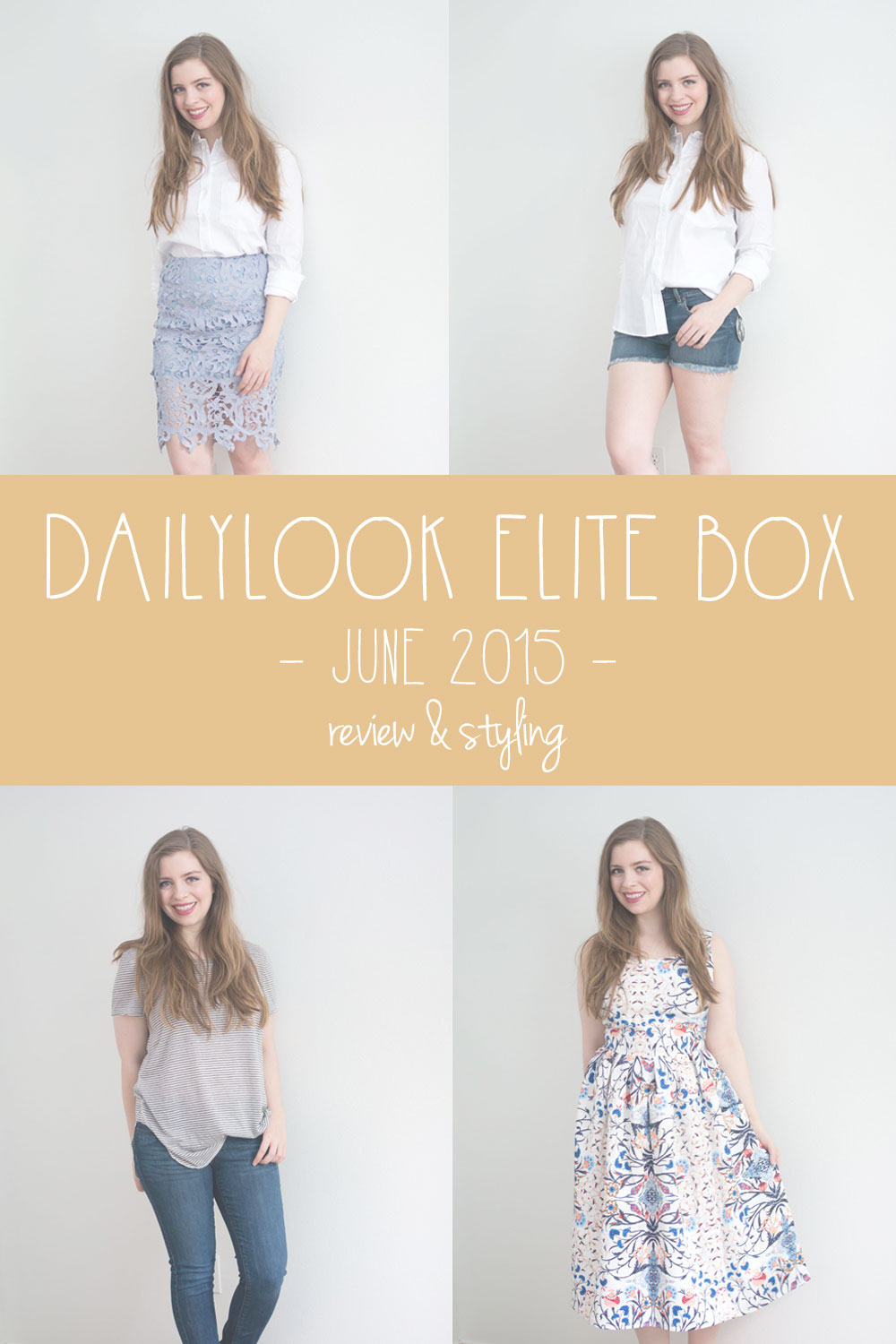 DailyLook Elite Box June 2015 Review / hellorigby seattle fashion blog