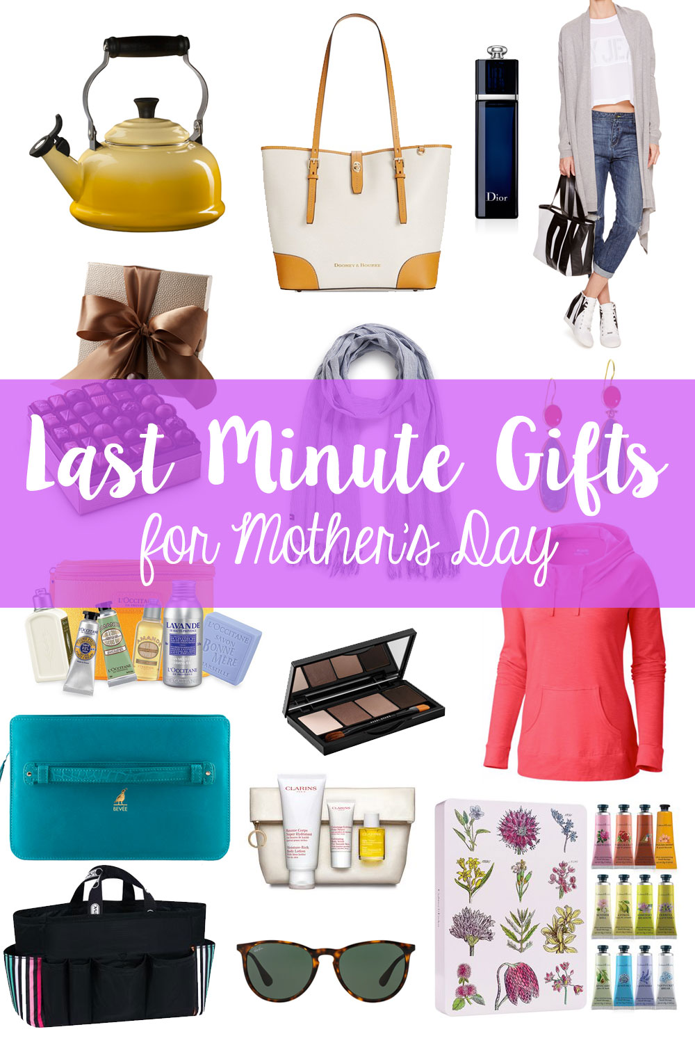 Last Minute Gifts for Mother's Day / hellorigby seattle fashion blog