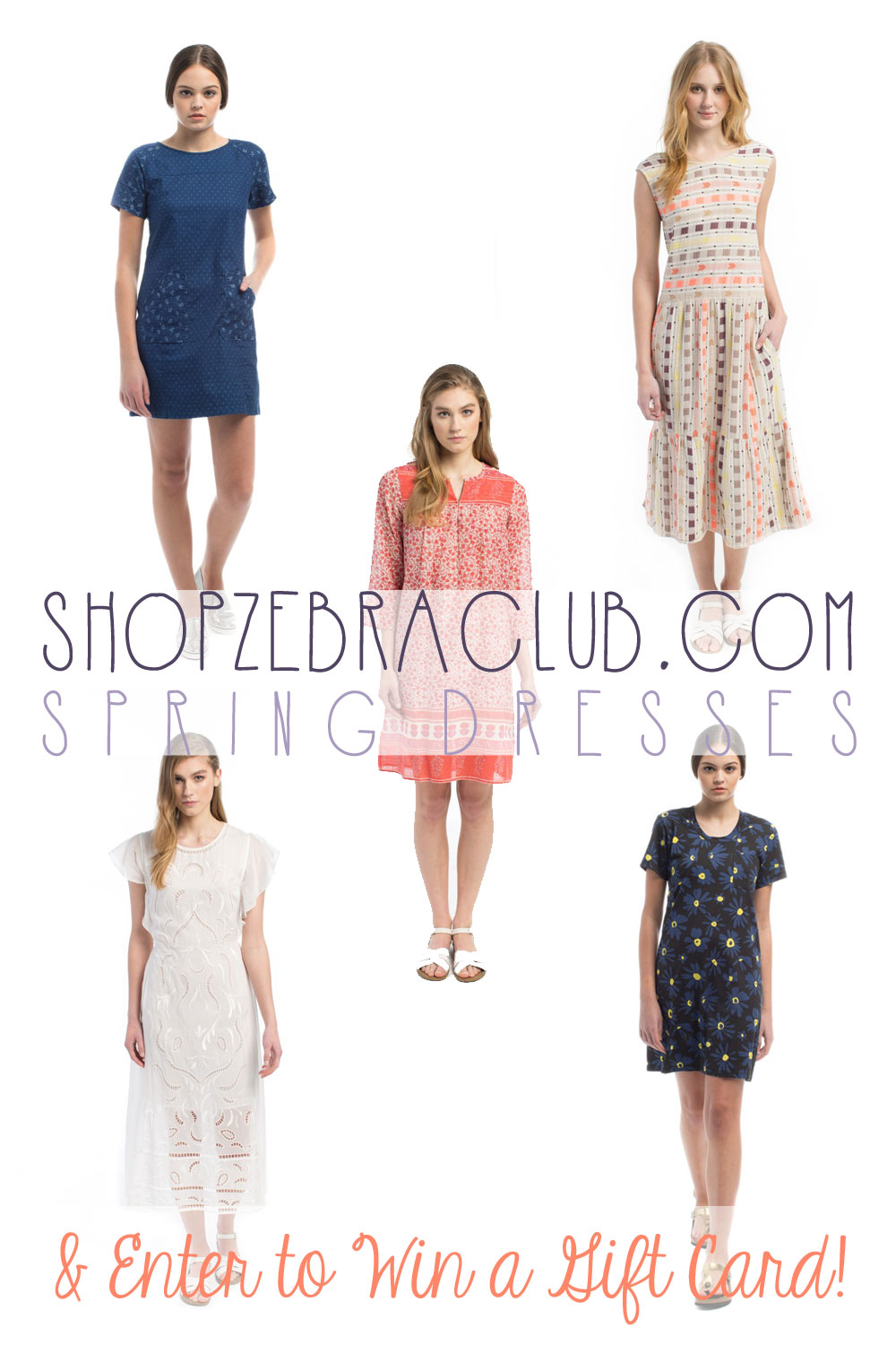 ShopZebraClub.com Spring Dresses  & Giveaway: Enter to win $50 to spend on some cute spring outfits! / hellorigby seattle fashion blog