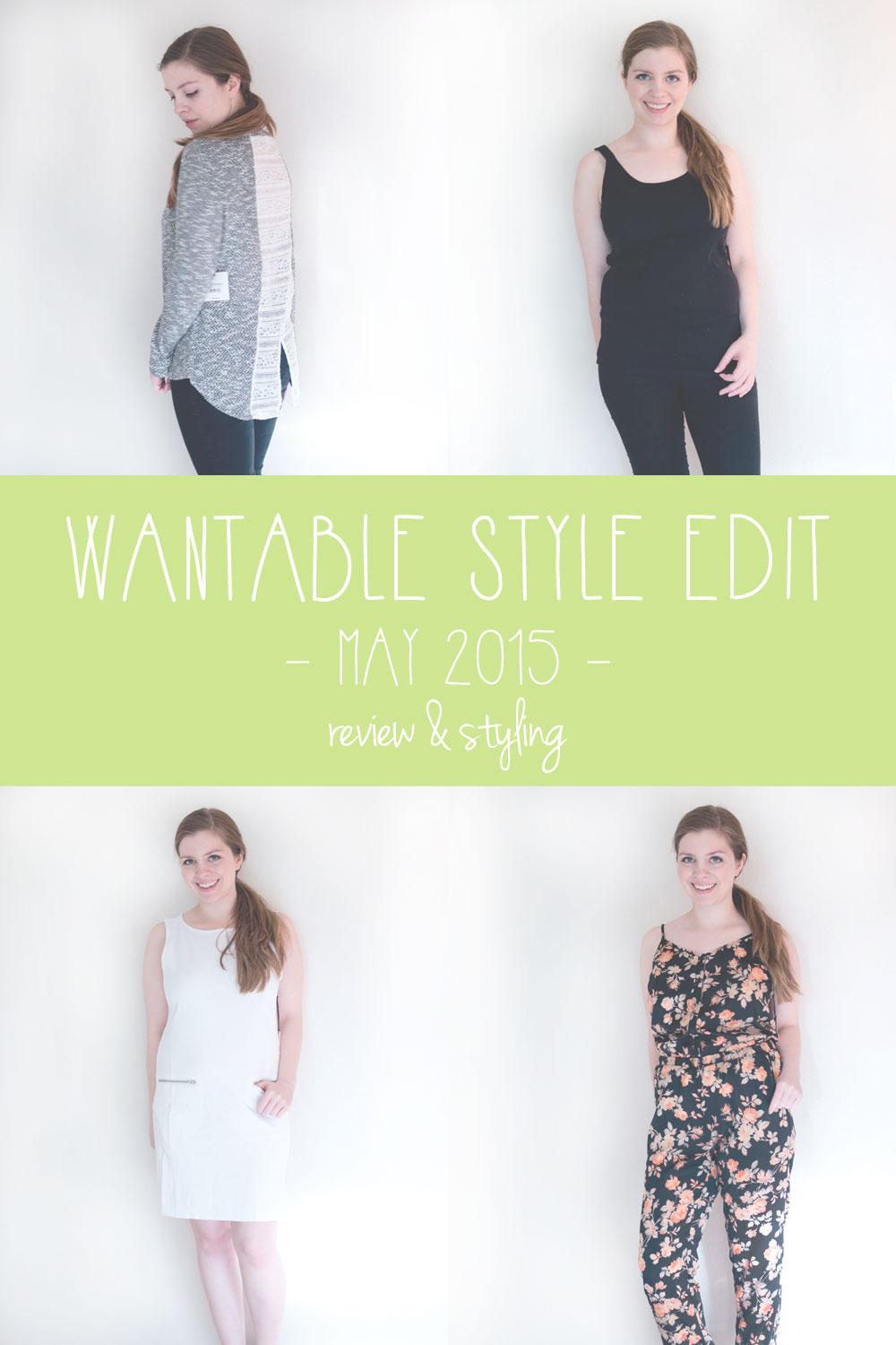 Wantable Style Edit May 2015 Review & Styling / hellorigby seattle fashion blog