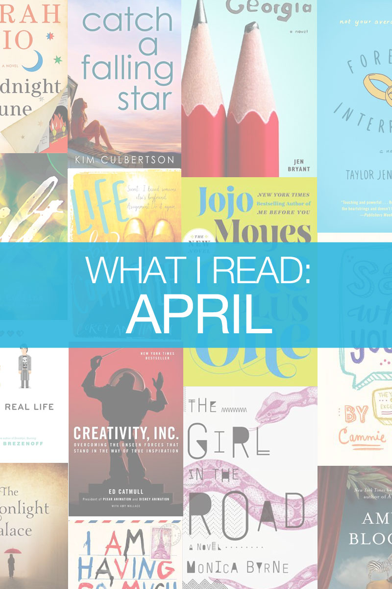 What I Read in April & Semi Charmed Summer Book Challenge / hellorigby seattle book blog
