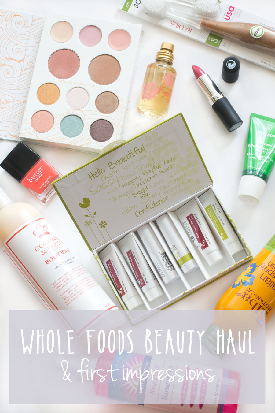 Whole Foods Beauty Haul & First Impressions / hellorigby seattle beauty blog